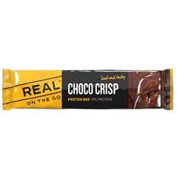 Real On The Go Choco Crisp Protein Bar