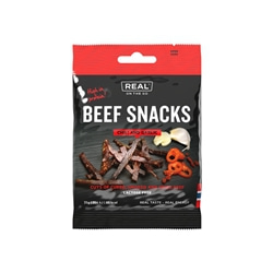 Real On The Go Beef Snacks, Chili and Garlic