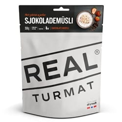 Real Turmat Chocolate Muesli, enkelportion