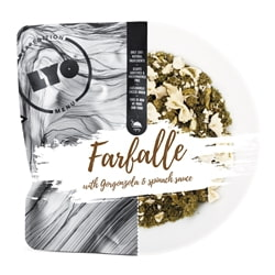 Lyofood Farfalle With Gorgonzola And Spinach Sauce 500 G
