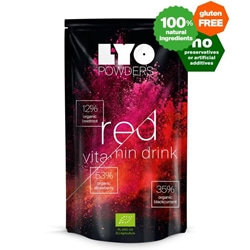 Lyofood red vitamin drink Mix 51 G- Bottle Size