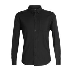 Icebreaker Mens Compass Flannel LS Shirt