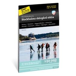 Calazo Skridskokarta Stockholms Skärgård - Södra 1:50.000