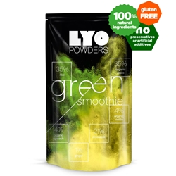 Lyofood Green Smoothie Mix 42 G - Bottle Size - Frystorkad smoothie