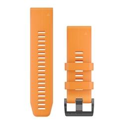 Garmin Watchband 26Mm Quickfit Spark Orange Silicone