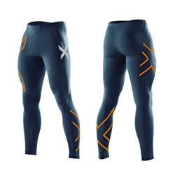 2Xu Compression Tights-M Navy/Torch