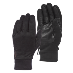 Black Diamond Heavyweight Wooltech Gloves - Supervarma innerhandskar