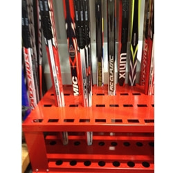 Skistart Skidställ 26 Par Längdskidor