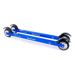 Skistart Skate Aluminium Rullskidor Paket