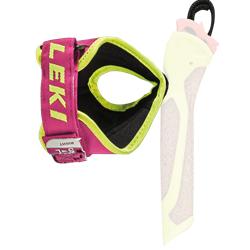 Leki Fix Strap Pink