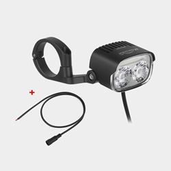Elcykelframlampa Magicshine Me 2000 + kabel För Shimano